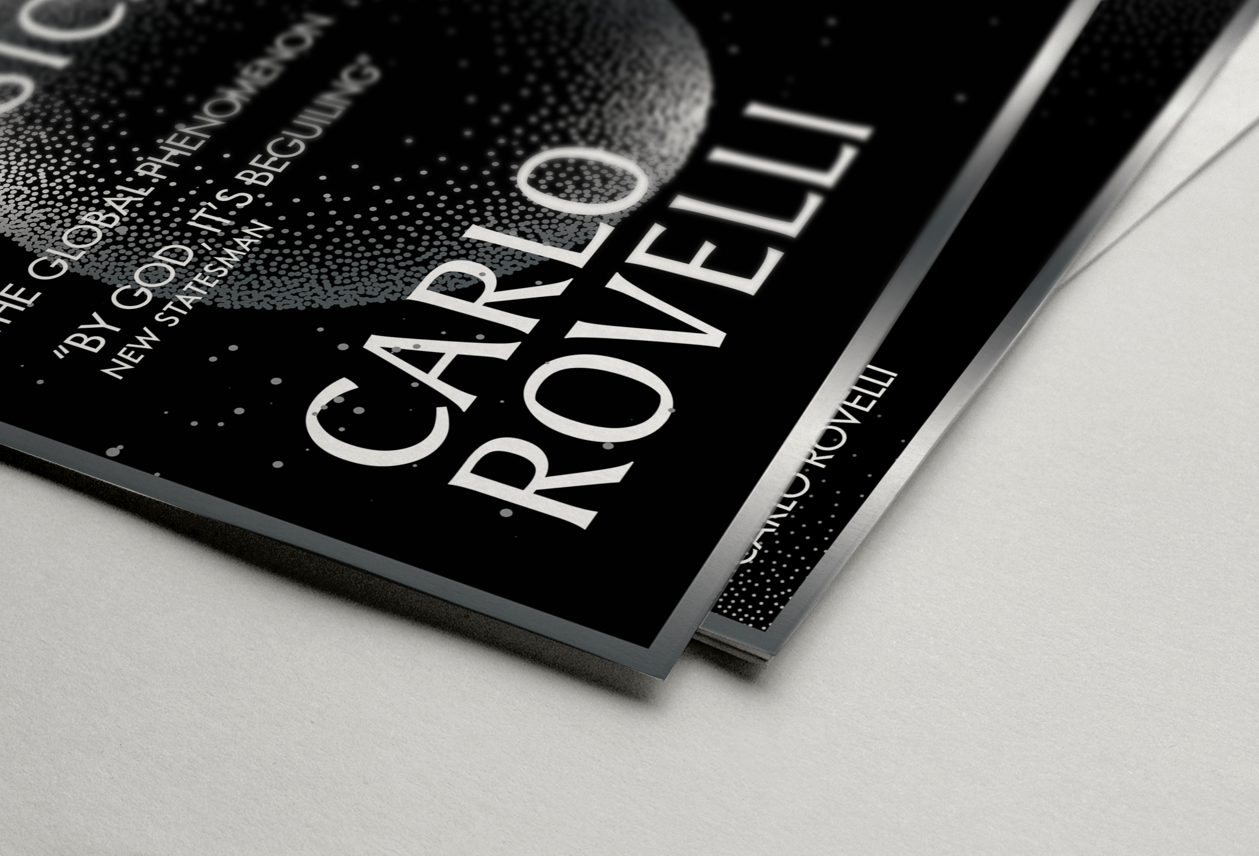 Joseph Botcherby Seven Brief Lessons On Physics Poster for Carlo Rovelli