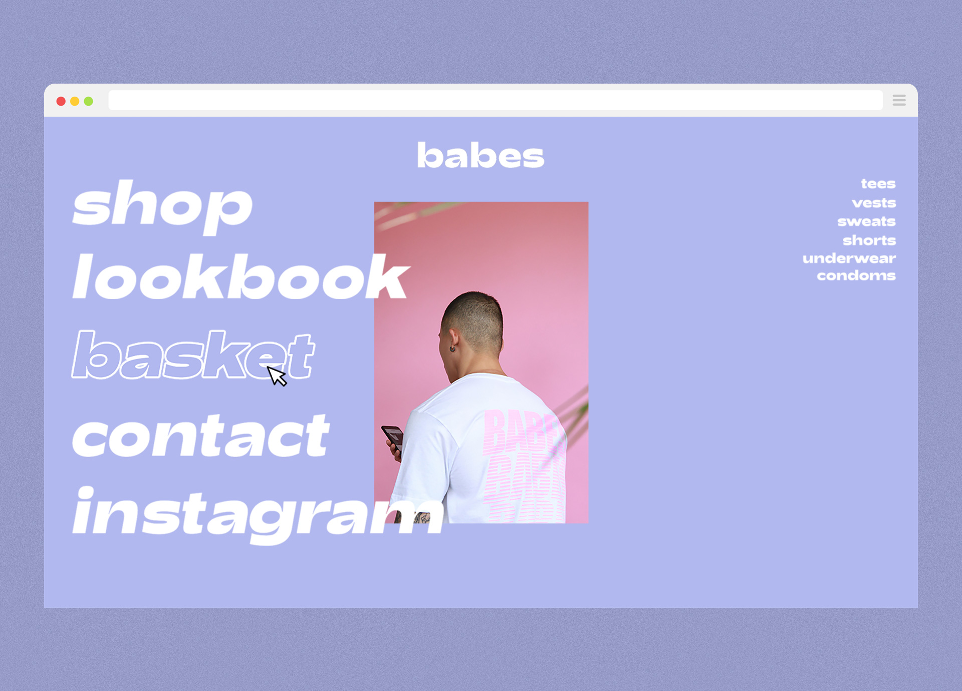 Babes-Website-Mock